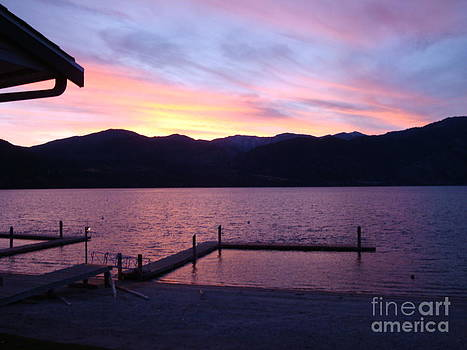 LakeChelanSunset by Inna Jasons