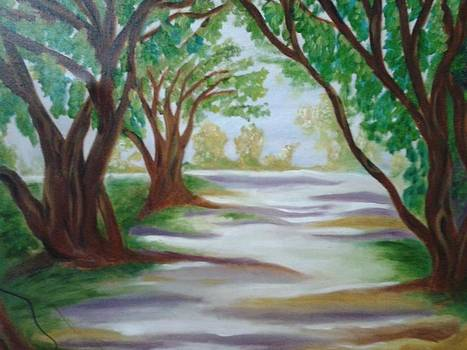 Landscape by Bharati Subramanian