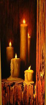 Las 5 velas  by William Martin