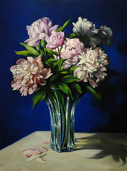 Las flores lilas by William Martin