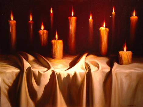Las once Velas by William Martin