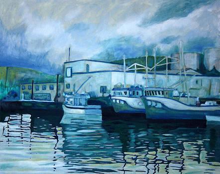 LaScie Newfoundland Fish Plant by Graham Matthews