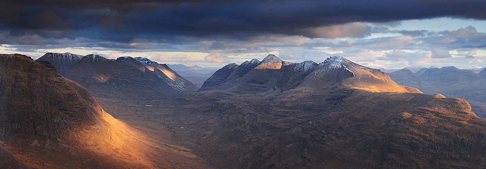 Last Light Liathach by Stewart Smith