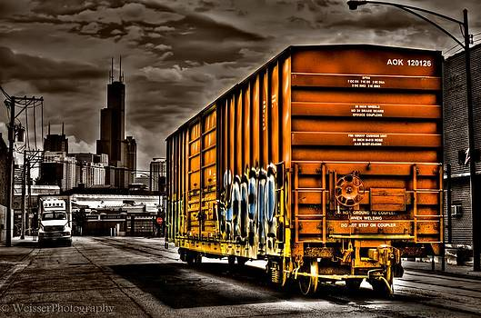 Last Stop Chicago  by Chad Weisser