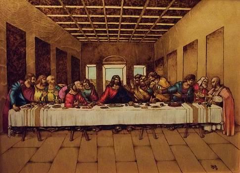 Last Supper by Freddy  Smith