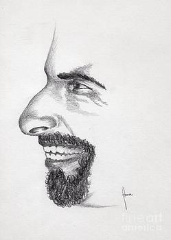 Laughter by Annemeet Hasidi- van der Leij