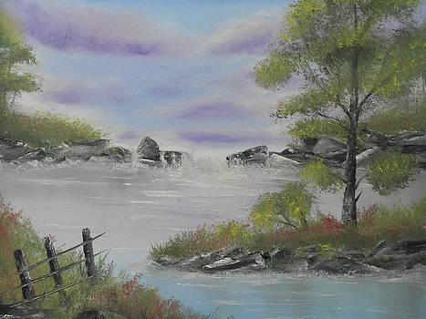 Lavender Sky by Mary DeLawder