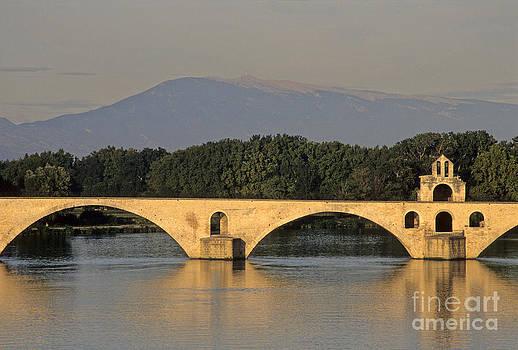 BERNARD JAUBERT - Le Pont Benezet.Avignon. Provence.