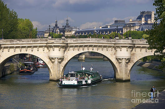 BERNARD JAUBERT - Le Pont Neuf . Paris.
