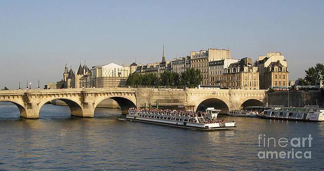 BERNARD JAUBERT - Le Pont Neuf. Paris.
