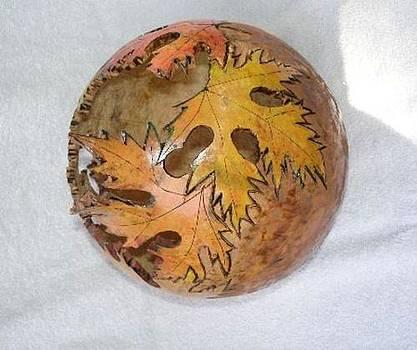 Leaf Gourd by Cristy Crites