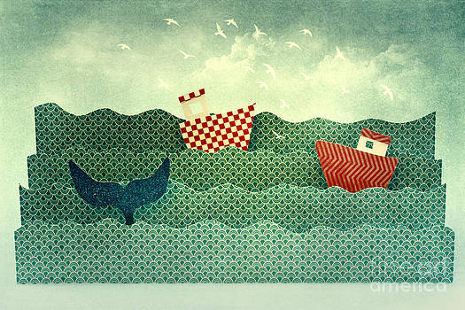 Life on the Paper Wave by Catherine MacBride