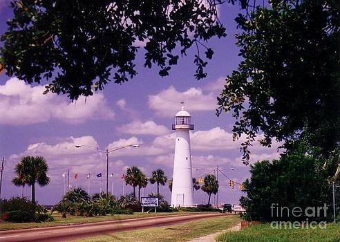 Halifax Artist John Malone - Lighthouse in Biloxi mississippi