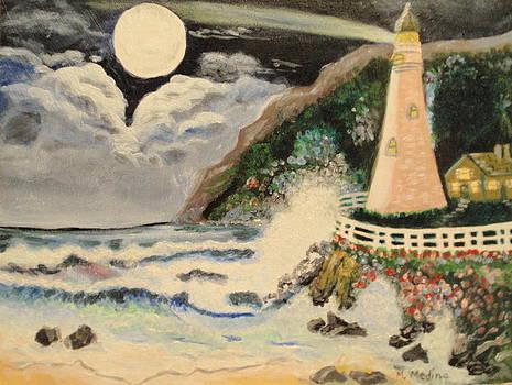 Lighthouse by Maria Medina