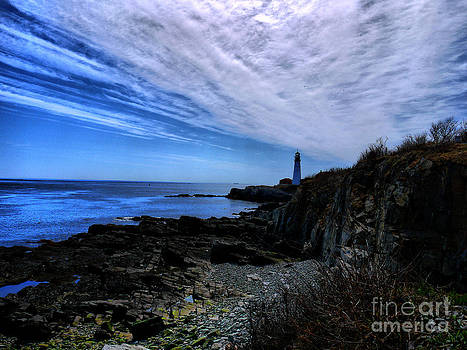 Lighthouse Sky by Nancie DeMellia