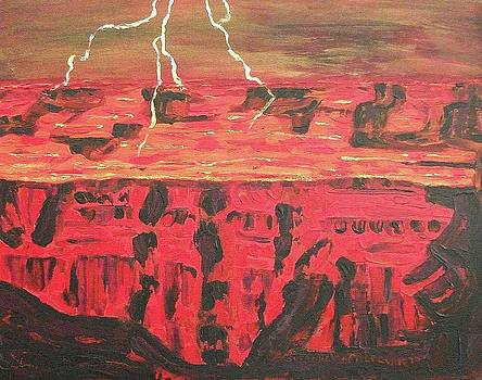 Suzanne  Marie Leclair - Lightning in Hell