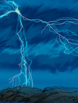 Lightning in Wyoming by Anne V Norskog