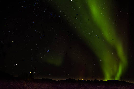 Lights Over The Hill by Darren Langlois