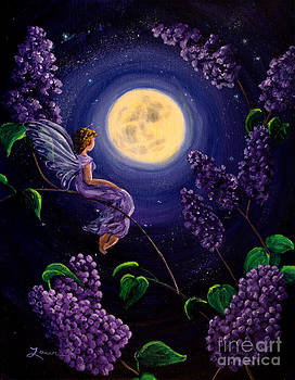 Laura Iverson - Lilac Fairy Bathed in Moonlight