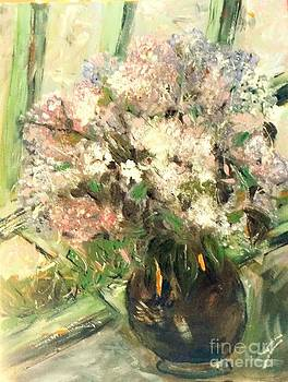 Lilacs At The Window by Viva La Vida Galeria Gloria
