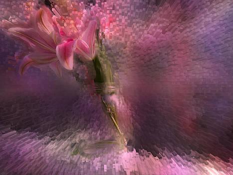 Lilies Explosion by Natalya Shvetsky