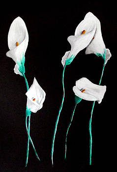 Lilies by Sandy Wager