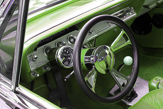 Carolyn Stagger Cokley - lime chevy impala