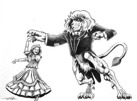 Joseph Palotas - Lion Dancing with Girl