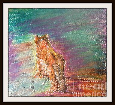 Lion by Foqia Zafar