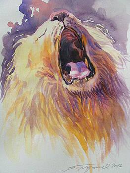 Lion by Supot Pimpan