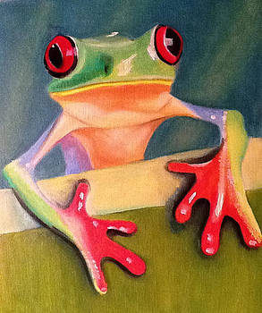 Litle Frog by Graciela Scarlatto