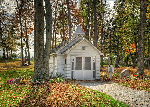 Little Chapel in the Woods by Pamela Baker