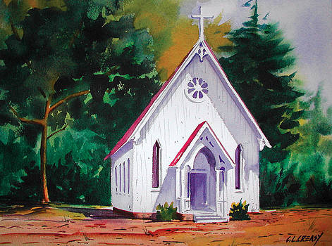Little Country Church by Chuck Creasy