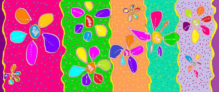 Little Flowers by Rosana Ortiz