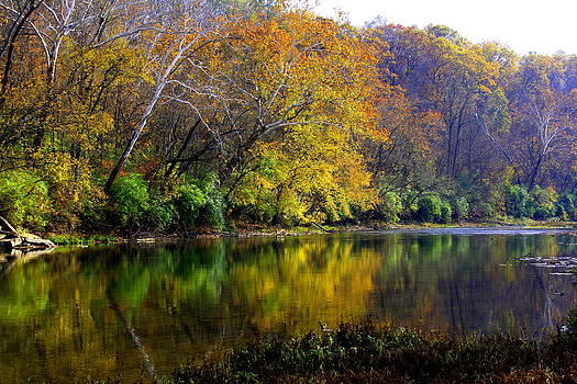 Little Miami River Fall II by Anthony Wilder