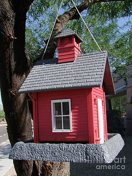 Mary Deal - Little Red Birdhouse