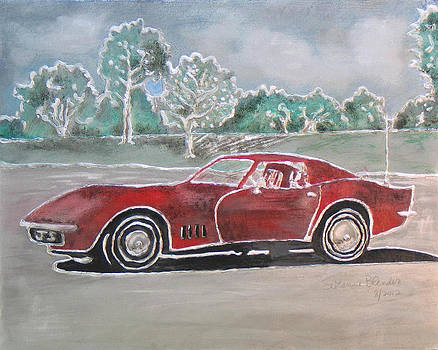 Little Red Corvette by Suzanne Blender