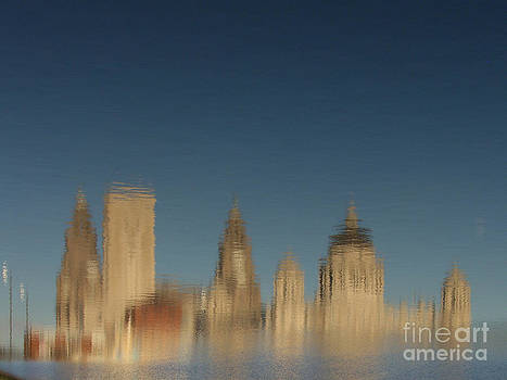 Liverpool Waterfront in the Breeze by Karin Ubeleis-Jones