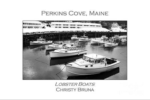 Lobster Boats by Christy Bruna
