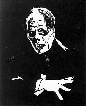 Lon Chaney as The Phantom by William Beyer