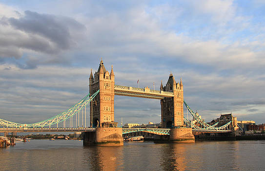 London Tower Bridge by Mary Hershberger