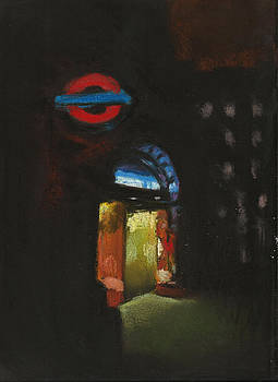 Paul Mitchell - London Tube 4