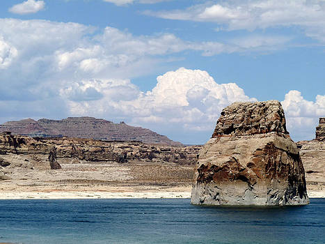 Terry Eve Tanner - Lone Rock at Lake Powell