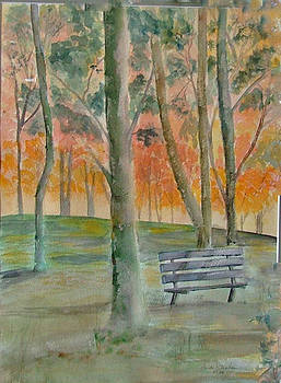 Lonely Bench by Heidi Patricio-Nadon