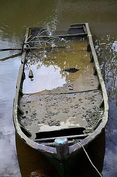Lonely Boat by Ku Azhar Ku Saud