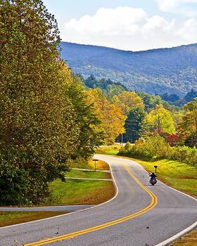 Lonely Motorcycle by Susan Leggett