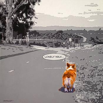 Lonely Walk v.4 by Max Yamada