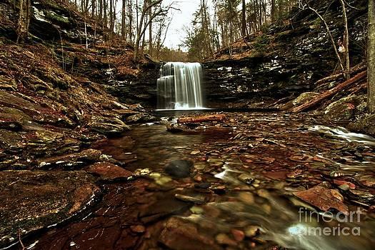 Adam Jewell - Long Canyon Waterfall