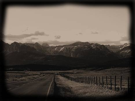 Long road home by Jonathan Lagace
