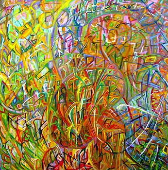 Looking-for beginnings by Oksana Cherkas